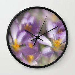 Springtime Dreams Wall Clock
