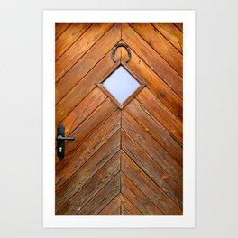 Door #1 Art Print