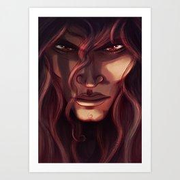 Bloodlines - Datura Art Print