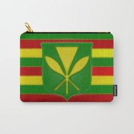Fancy Flag:  Hawaii Kanaka Maoli Carry-All Pouch