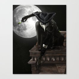 Medecin de Mort Canvas Print