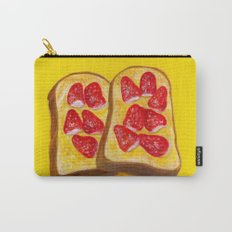 Strawberry Toast Carry-All Pouch