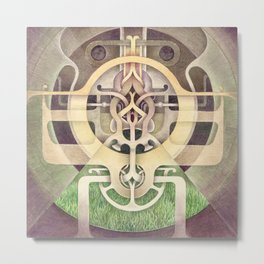Composition III Metal Print