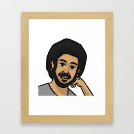 cool story gecoo Framed Art Print