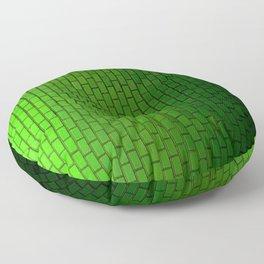 Emerald City Subway Floor Pillow