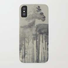 Like a Horse in the woods Slim Case iPhone X