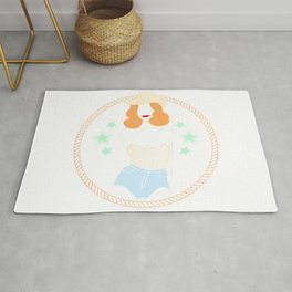 Golden Cowgirl Rug