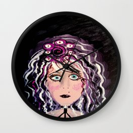 Trying Gothic Wall Clock