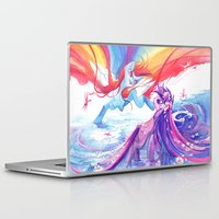 mlp Laptop & iPad Skins featuring MLP by Cari Corene