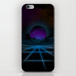 Outrun-2 iPhone Skin