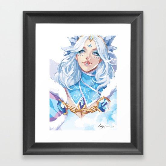 Crystal Maiden Framed Art Print