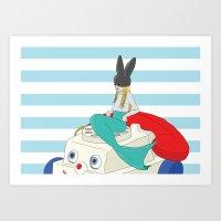 batfish Art Print