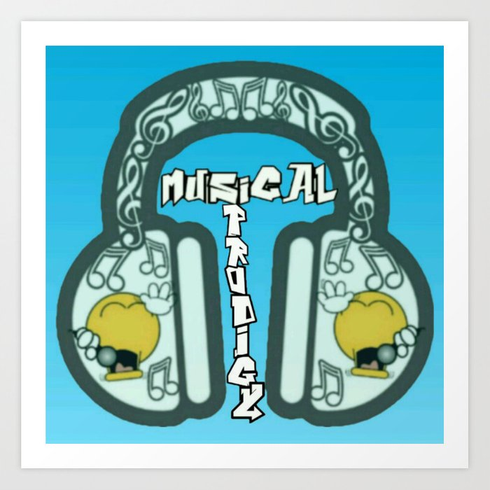 Musical Prodigy Art Print
