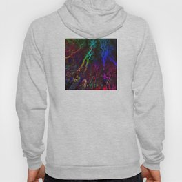 Magic neon Forest Hoody