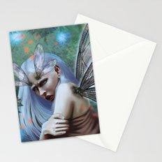 Dragonfly lady Stationery Cards