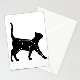 Aquarius Cat Stationery Cards