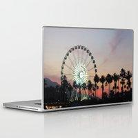 coachella Laptop & iPad Skins featuring Coachella by Lauren Haney