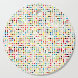 Colorful dots Cutting Board