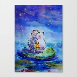 Finding My Star Canvas Print