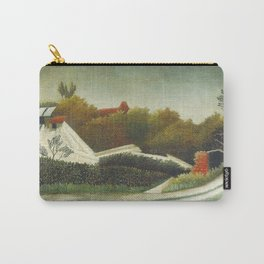 Sawmill Outskirts of Paris Carry-All Pouch