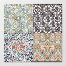 Patterns from South East Asia Canvas Print