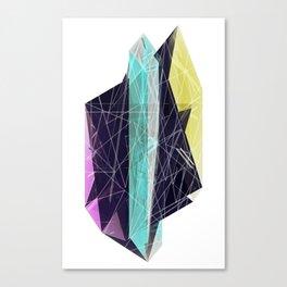 Geminate - Neon Canvas Print