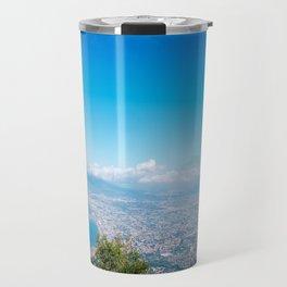 Bay of Naples from Mount Faito Travel Mug