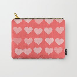 Cute Hearts Carry-All Pouch