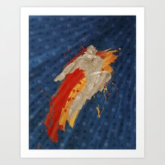 Fly (Homage To T. Hawk) Art Print