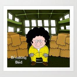 Breaking Bad...or something like that Art Print