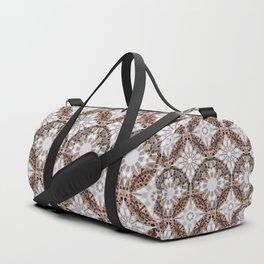Geometric Mandala Pattern 2 Duffle Bag