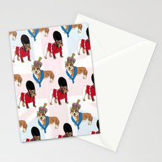 British Bulldog Guard Stationery Cards