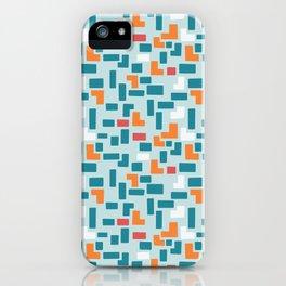 Bricks - dark iPhone Case