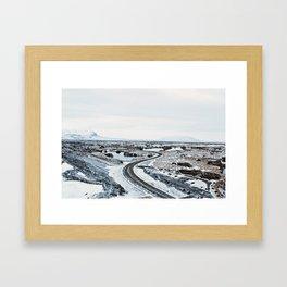 Near Myvatn Framed Art Print