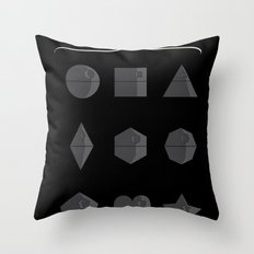 Sith geometry lessons Throw Pillow