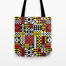 Geo Pattern Tote Bag