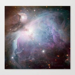 Orion Nebula Space Photo Canvas Print