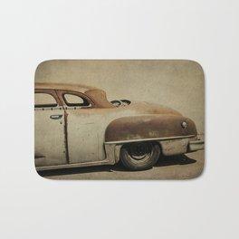 Rusty Chrysler De Soto Bath Mat
