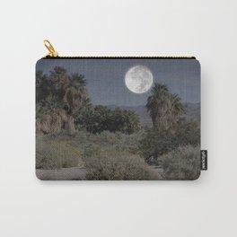 Desert Moonlight Scene Coachella Preserve Carry-All Pouch