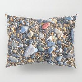 Red Pebble Pillow Sham