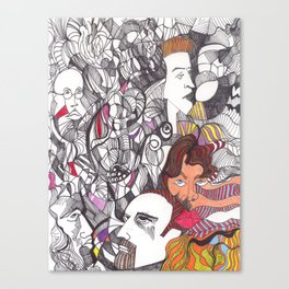 Afternoon Doodle Canvas Print