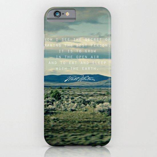 Whitman: Earth iPhone & iPod Case