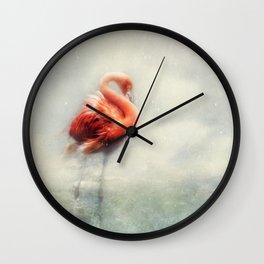 winter beauty Wall Clock