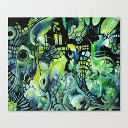 Little Underwater Earthquakes Canvas Print