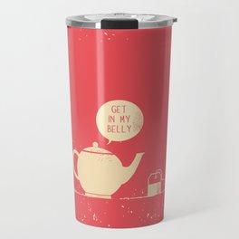 Tea bag & Teapot Travel Mug