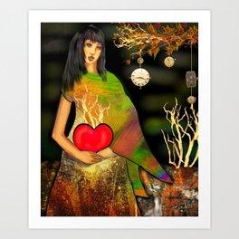 Love Grows Eternally Art Print