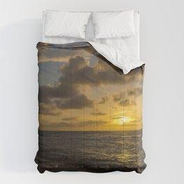 Golden Sunrise by Teresa Thompson Comforters