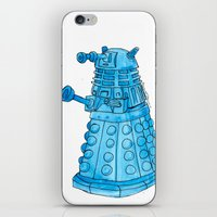 dalek iPhone & iPod Skins featuring Dalek by Margret Stewart
