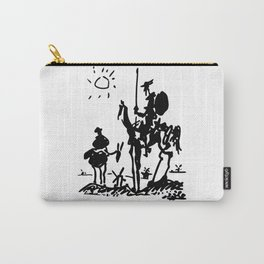 Pablo Picasso Don Quixote 1955 Artwork Shirt, Reproduction Carry-All Pouch