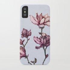 Spring Magnolias iPhone X Slim Case